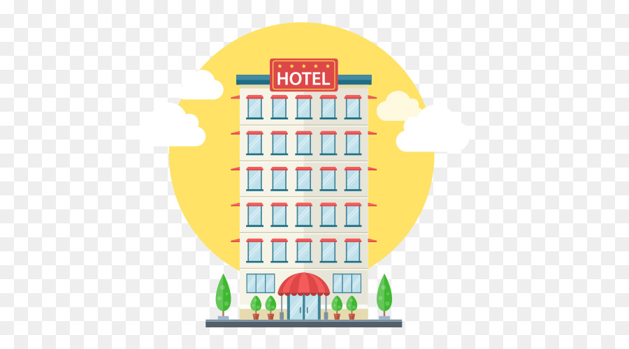 Hotel Euclidean Vector Icon