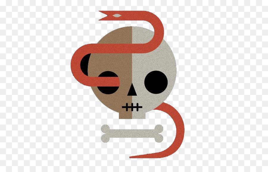 La Serpiente Hueso Del Cráneo - Cráneo de la serpiente png dibujo ...