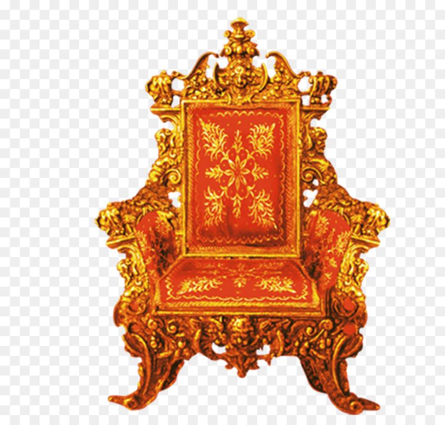 Genial Throne Chair   Golden Throne