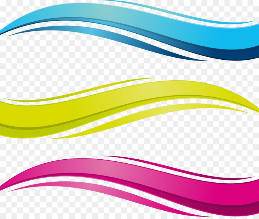 euclidean vector wave vector colored cartoon vector water waves rh kisspng com wave vector art wave vector image