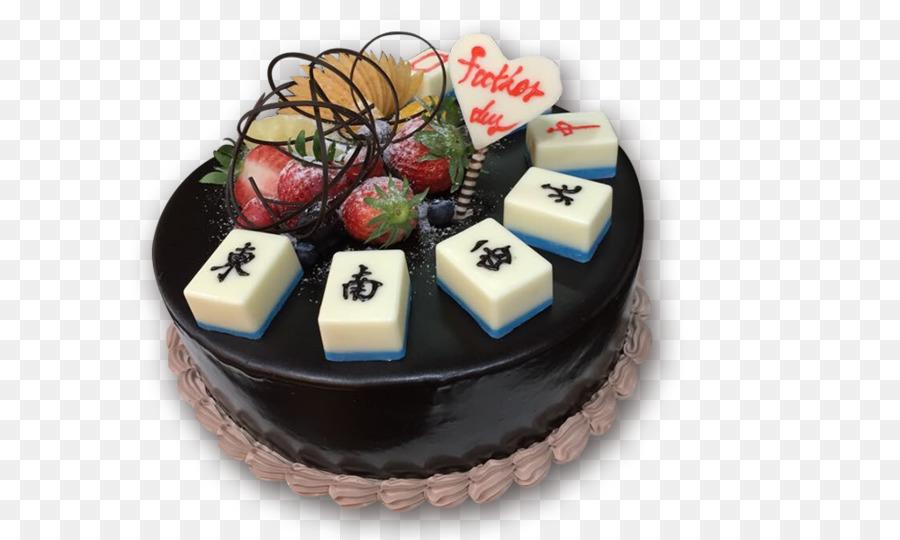 Chocolate Cake Mahjong Birthday Cake Torte Chocolate Cake Png