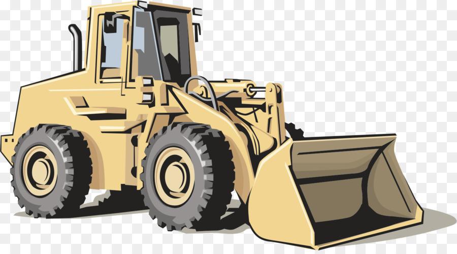Heavy Equipment Architectural Engineering Excavator Clip