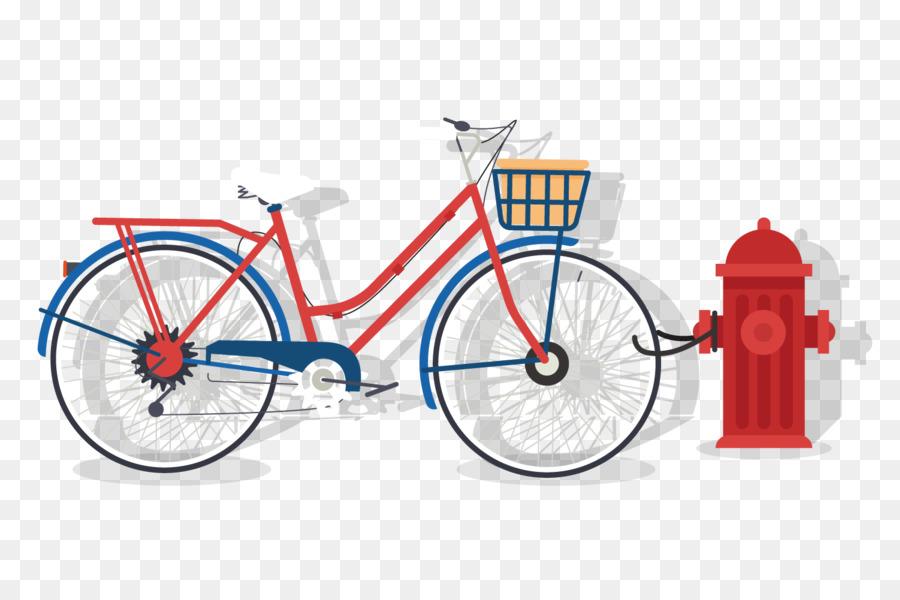 Rueda de bicicleta de cuadro de la Bicicleta bicicleta Híbrida de la ...