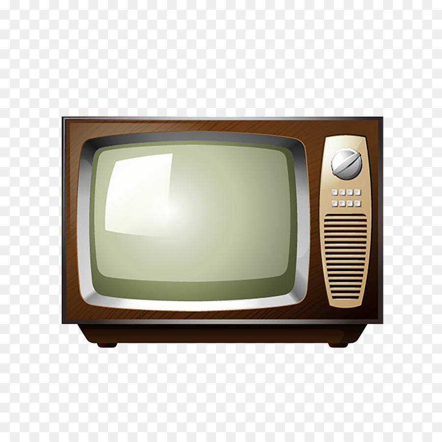 television stock illustration retro tv