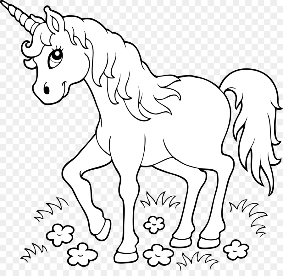 Unicorn Coloring book Page Child - unicorn png download - 2122*2034 ...