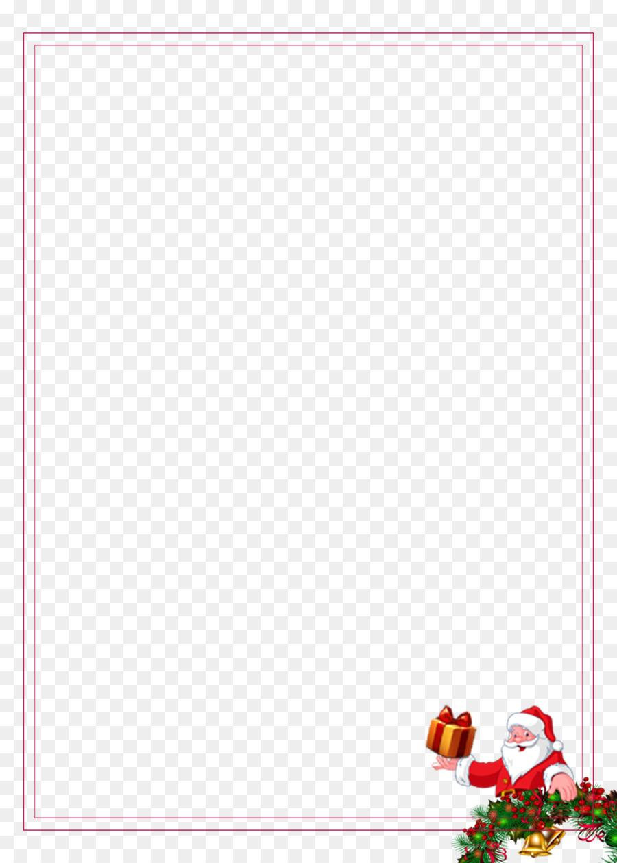 Paper Placemat Area Petal Pattern - Cute Santa Claus Decorative ...