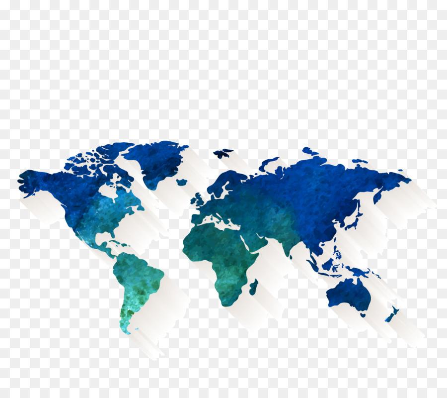 world map stock illustration vector cartoon map