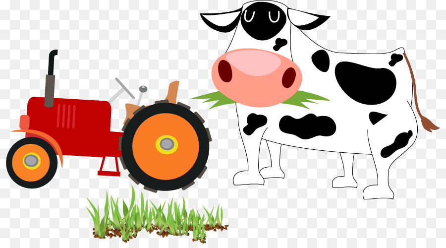 Cartoon Cattle Agriculture Clip Art