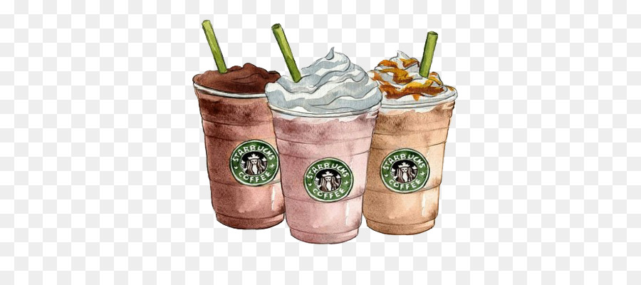 Coffee Latte Milkshake Starbucks Clip Art