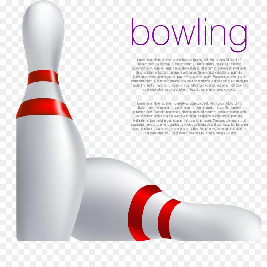 Bowling Pin Ten Pin Bowling Bowling Ball Decorative Vector Bowling