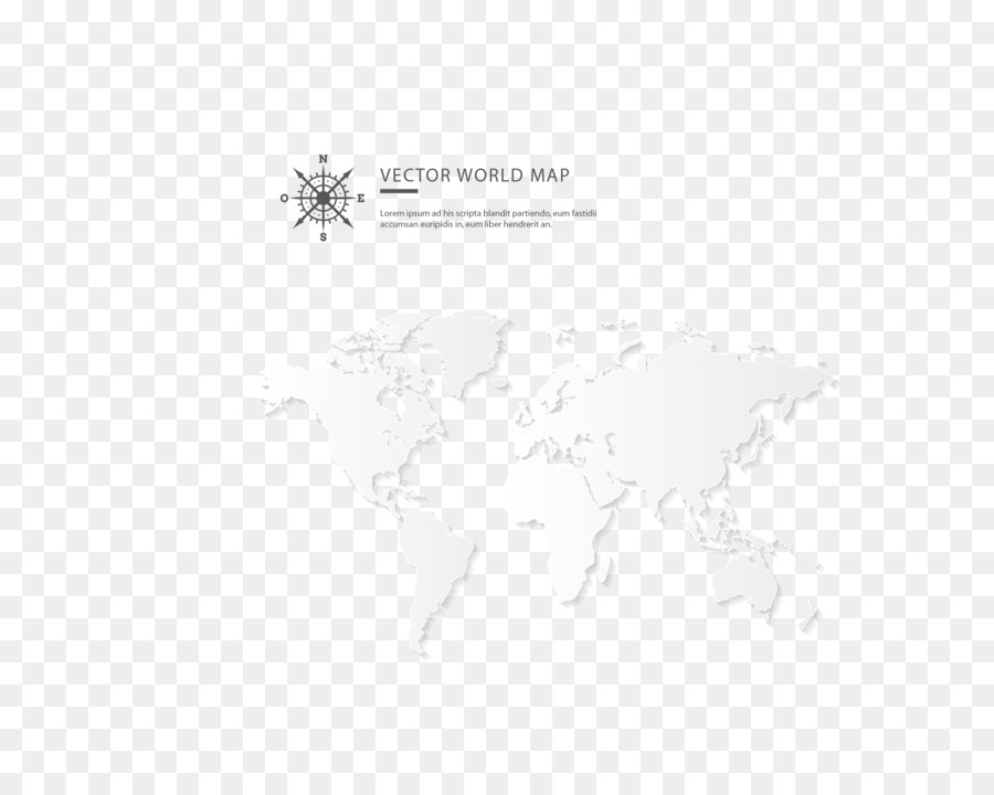 Black and white line angle point vector white world map png black and white line angle point vector white world map gumiabroncs Images