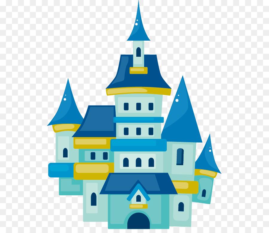 cartoon drawing castle clip art blue castle png download 585 767 rh kisspng com clip art castle and clouds clip art casserole dish