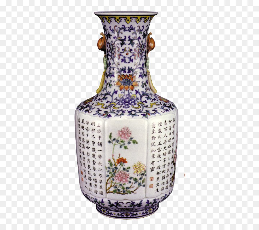 Jingdezhen Porcelain Antique Blue And White Pottery Ceramic Vase