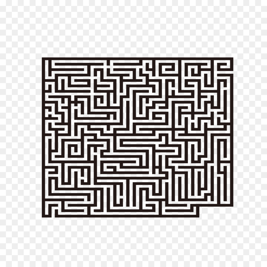 Computer mouse Maze Labyrinth - Maze mouse pad png download - 1181 ...