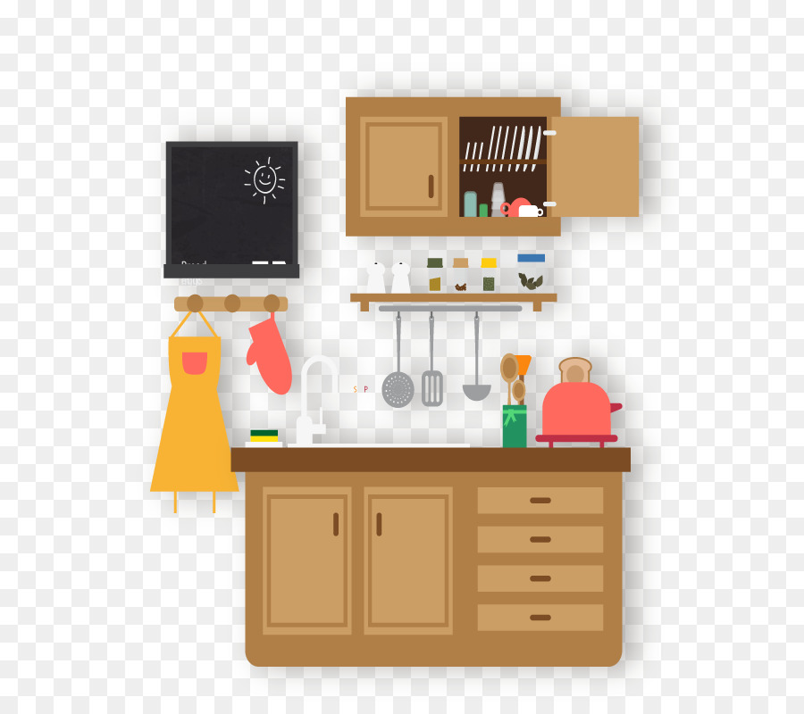 Vector Kitchen Png Download