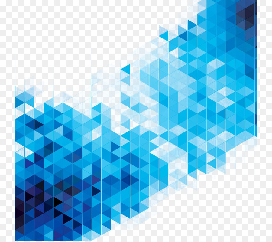 Abstract Art Blue Geometry Stock Illustration Science