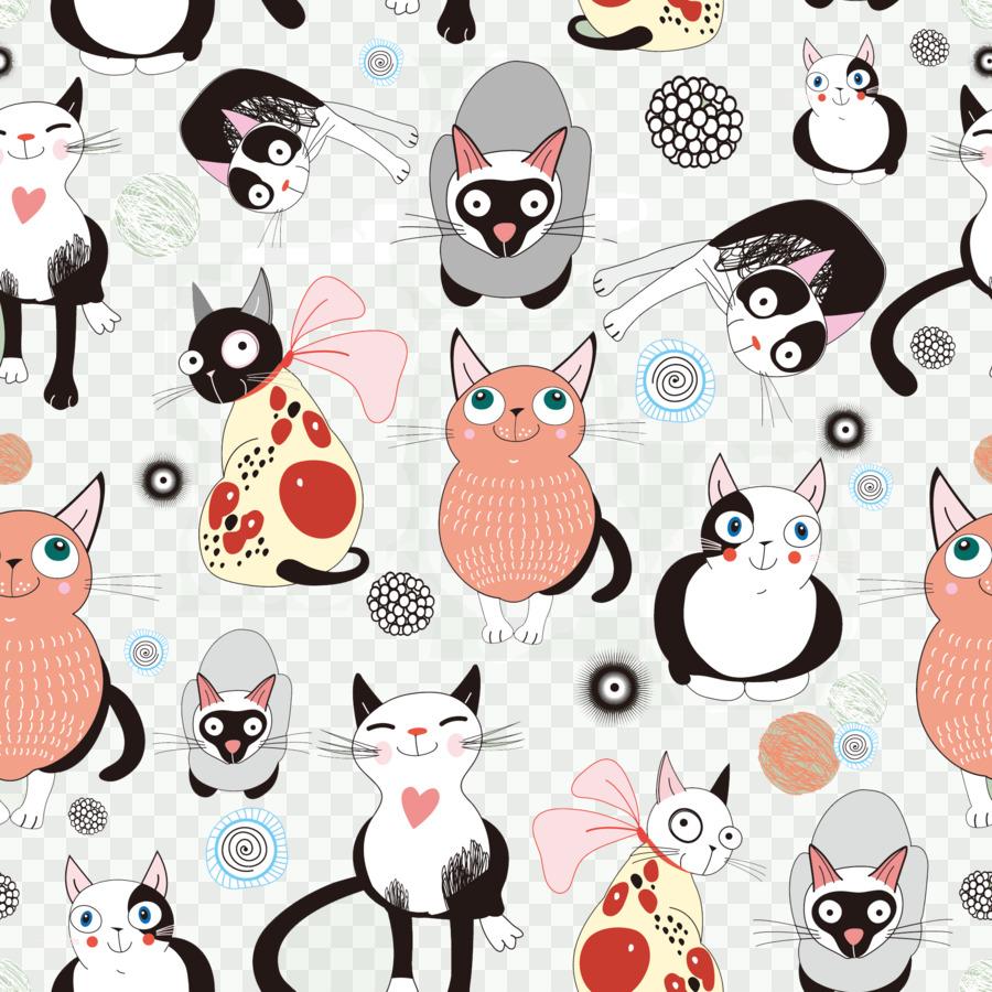 Cat Cartoon Wallpaper Japanese Cartoon Cat Background Png Download