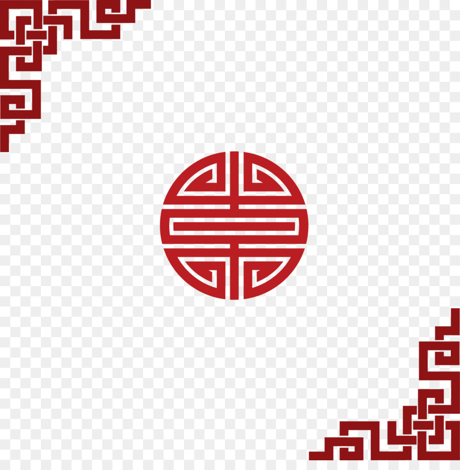 china chinese new year pattern chinese new year red border