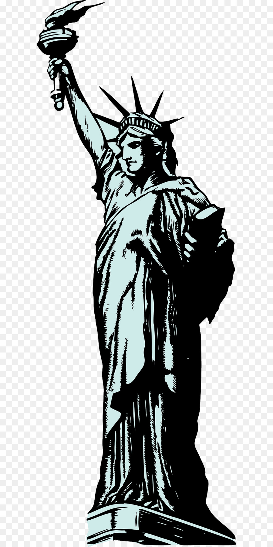 statue of liberty clip art the torch of the goddess png download rh kisspng com statue of liberty clip art images statue of liberty clipart black and white