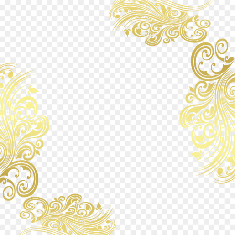 pattern gold decorative patterns png download 1000