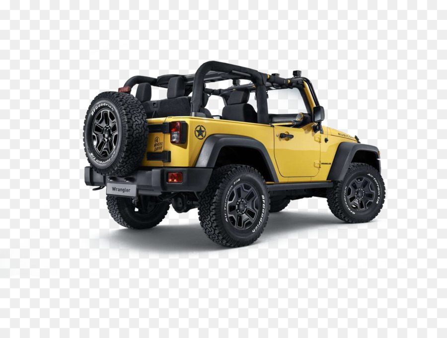 2013 Jeep Wrangler 2015 Jeep Wrangler Rubicon Car Sport Utility Vehicle    Jeep Yellow Color Wrangler Material Material