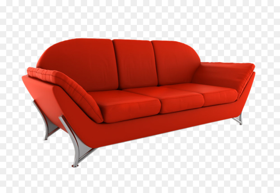 Couch Furniture Office Loveseat Chair Red Sofa