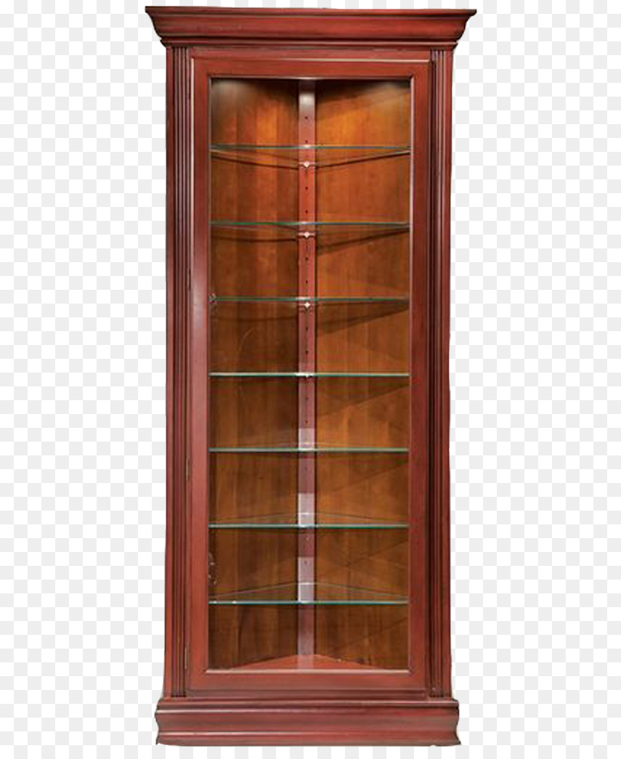 Display Case Cabinetry Glass Curio Cabinet Furniture   Red Medieval  European Showcase