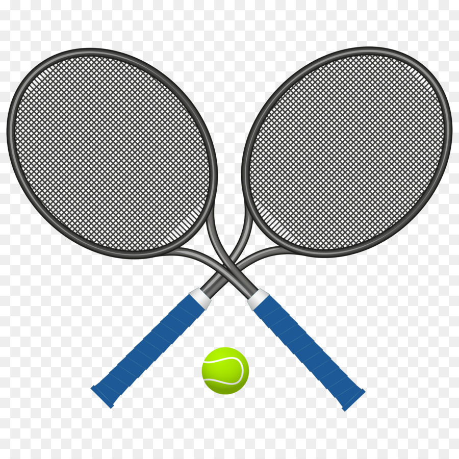Tennis Racket Clip Art Cross Tennis Racket Png Download 4000