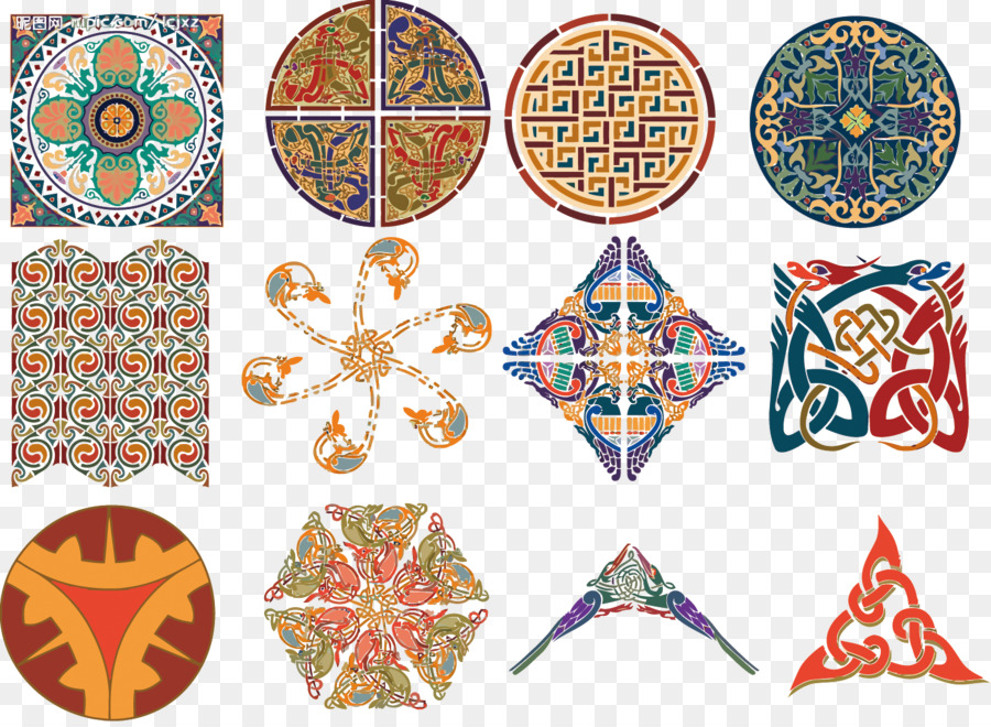 Celts Islamic Art   Vector Islamic Pattern