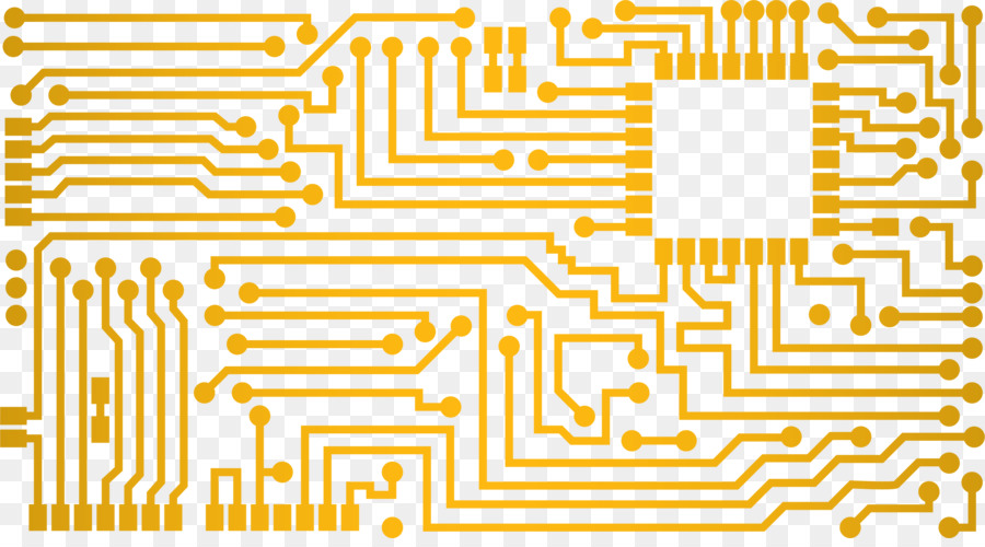 Circuit diagram Printed circuit board Electrical network Electronic ...