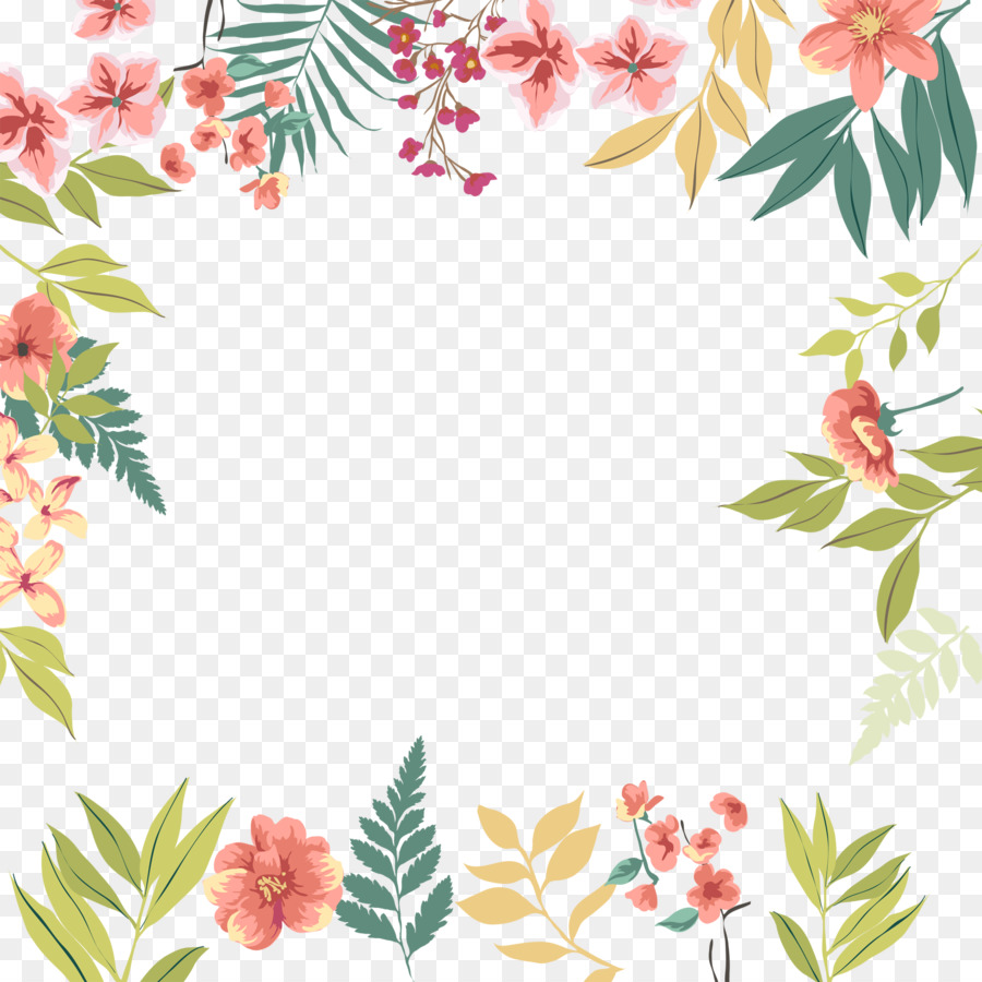 Pink flowers leaf green leaves flowers border png download 1772 pink flowers leaf green leaves flowers border mightylinksfo