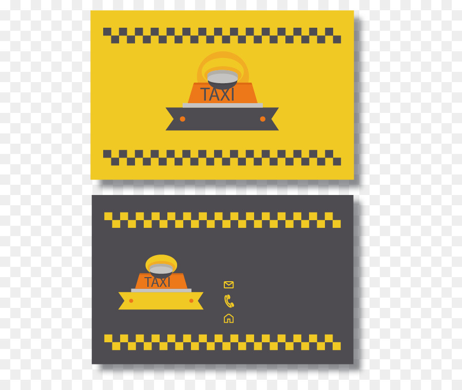 Taxi Checker Motors Corporation Business card Visiting card - Taxi ...
