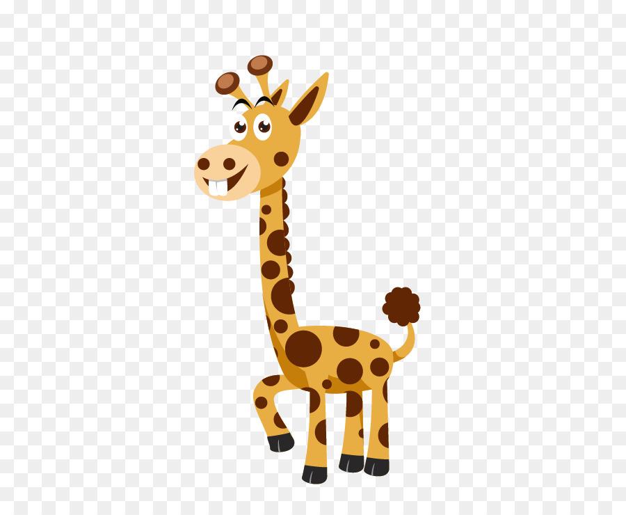 Euclidean Vector Northern Giraffe Cartoon