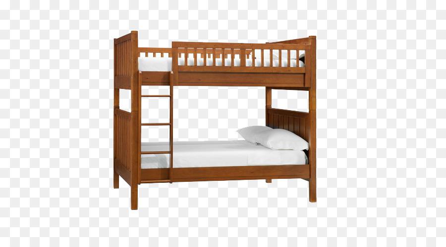 Bunk bed Loft Nightstand Furniture 3d model BedFurniture 3d