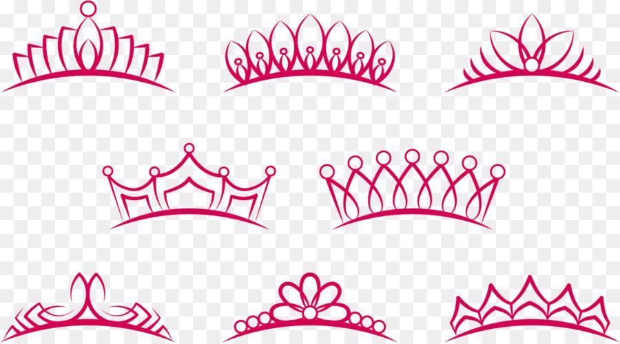 crown euclidean vector tiara princess pink crown png king crown vector png kings crown vector art free