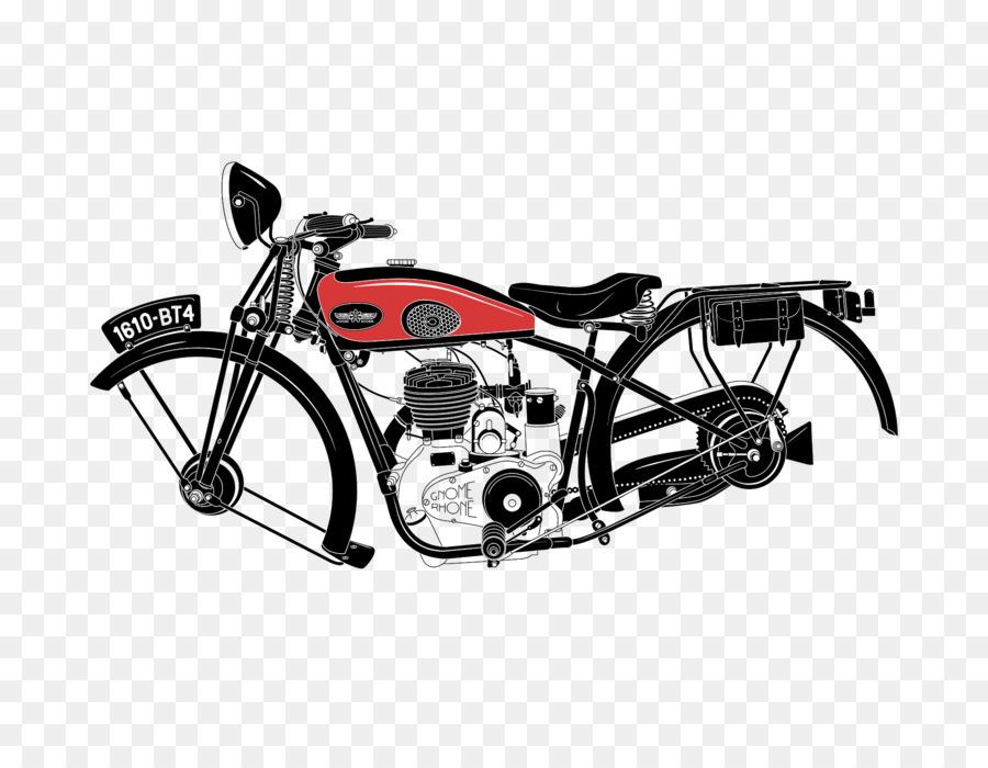 Bicycle frame Motorcycle Car - Vintage Motorcycle rack png download ...