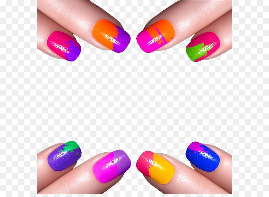 Nail Art Nail Polish png download - 650*650 - Free Transparent Nail