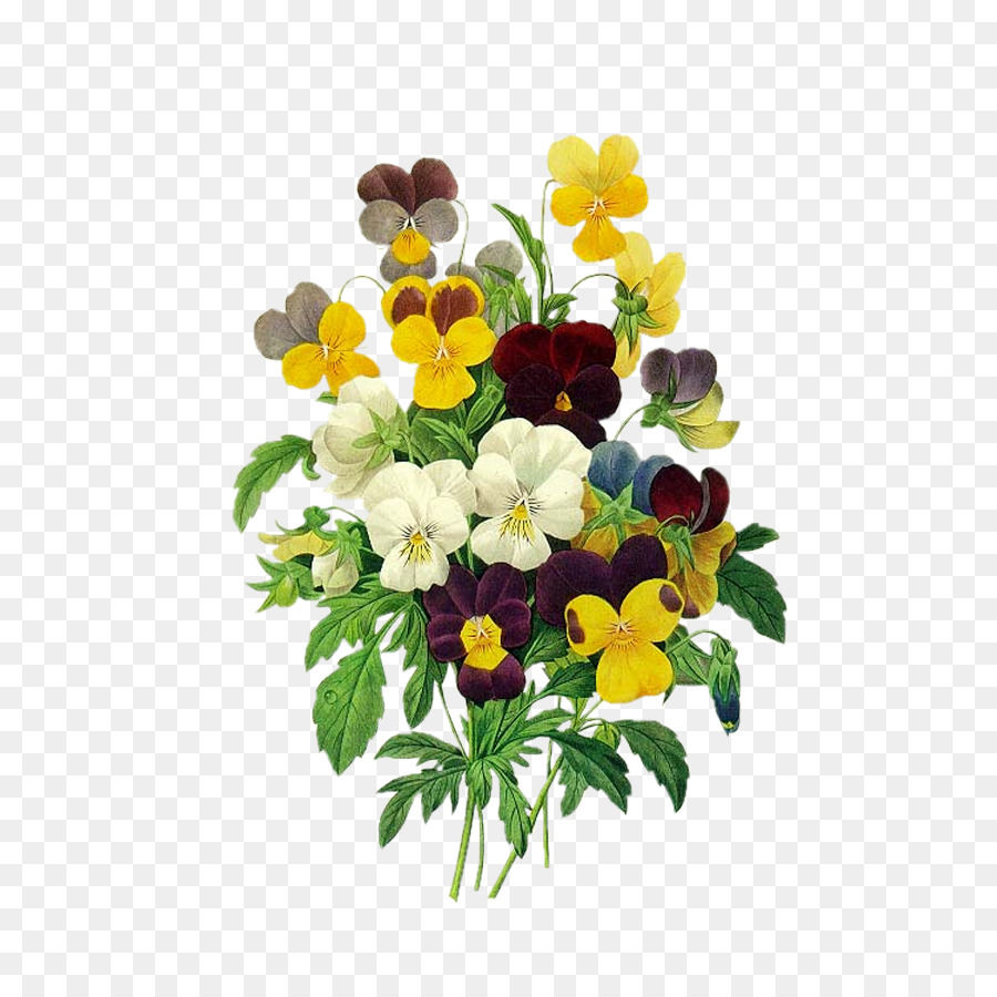 Redoutxe9s roses pansy viola pedunculata redoutxe9s bouquets pierre redoutxe9s roses pansy viola pedunculata redoutxe9s bouquets pierre joseph redoutxe9 1759 1840 colorful bouquet of flowers composition izmirmasajfo