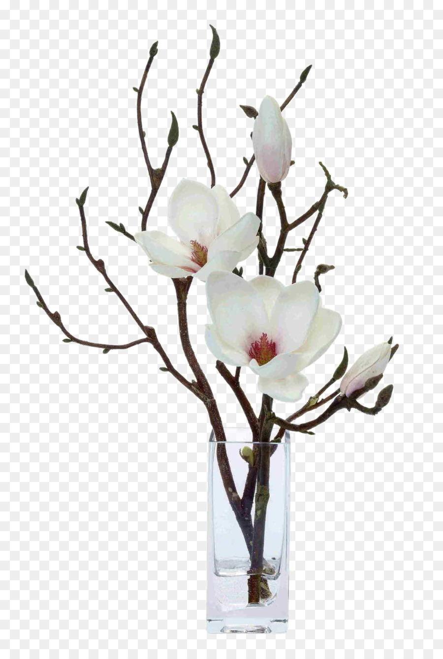 Magnolia Artificial Flower Floral Design Floristry White Flower