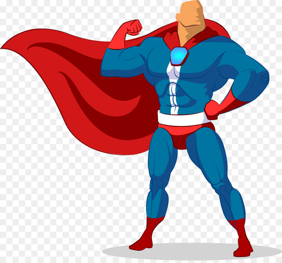 clark kent superhero royalty free illustration vector painted