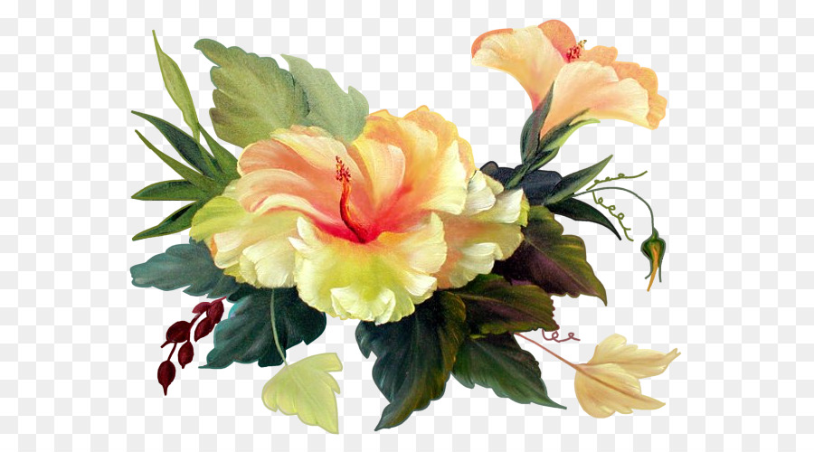 Hibiscus Flower Blume Bokmxe4rke Clip art - bouquet png download ...