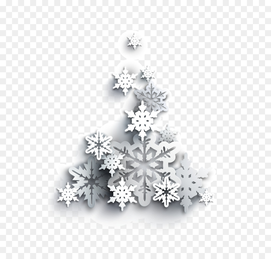 light snowflake christmas tree snow white christmas