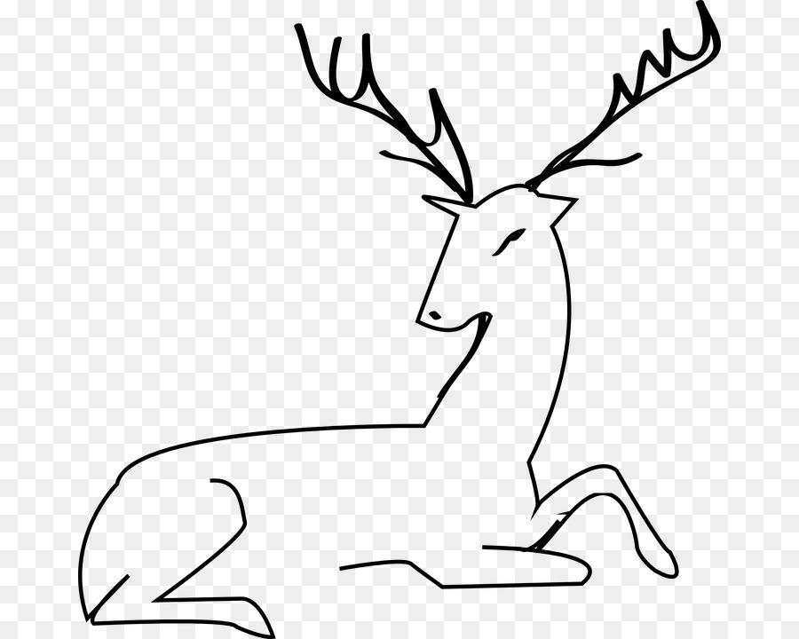 Reindeer Red Deer Moose Clip Art