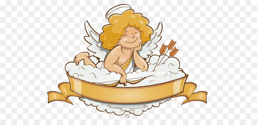 Valentines Day Angel Cupid Illustration Cute Cupid 598 429