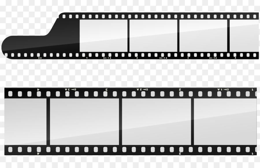 Filmstrip Template - Vector black and white frame assignment png ...