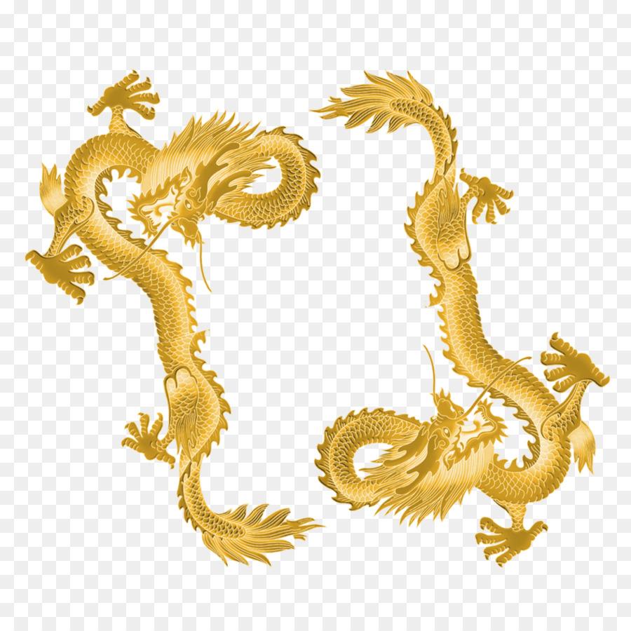 Dragon Gold png download - 945*945 - Free Transparent Dragon png
