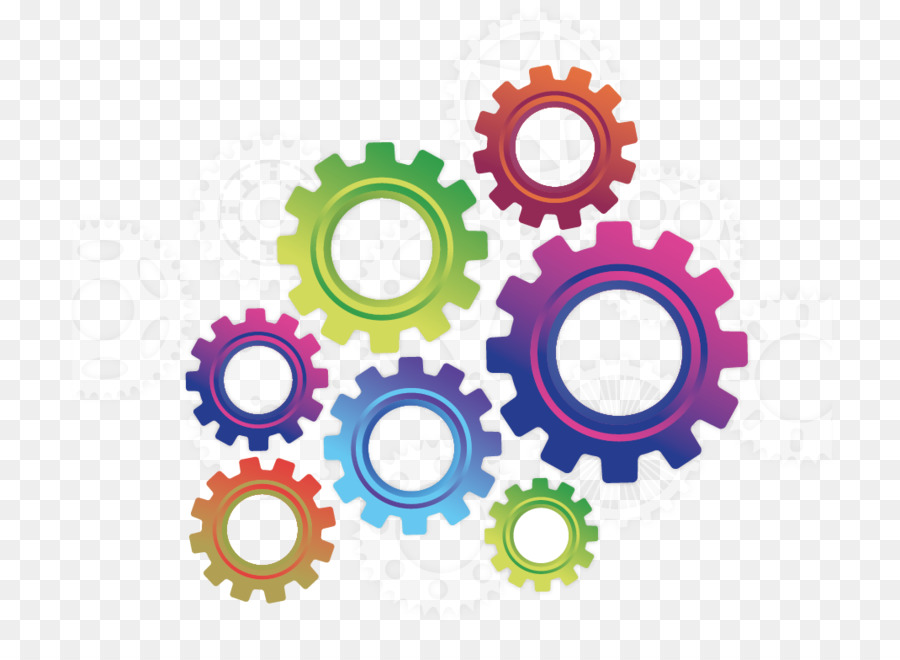 Color Gears Png Download