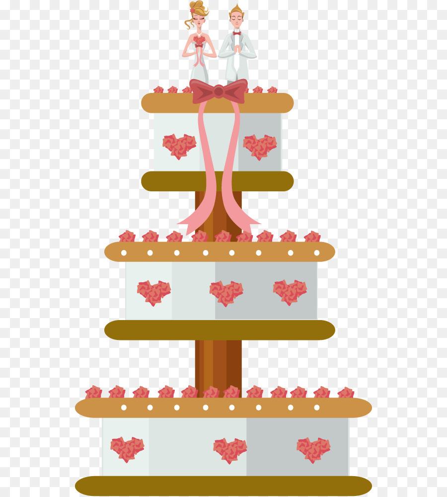 Wedding Cake Layer Cake Vector Wedding Cake Png Download 600 999