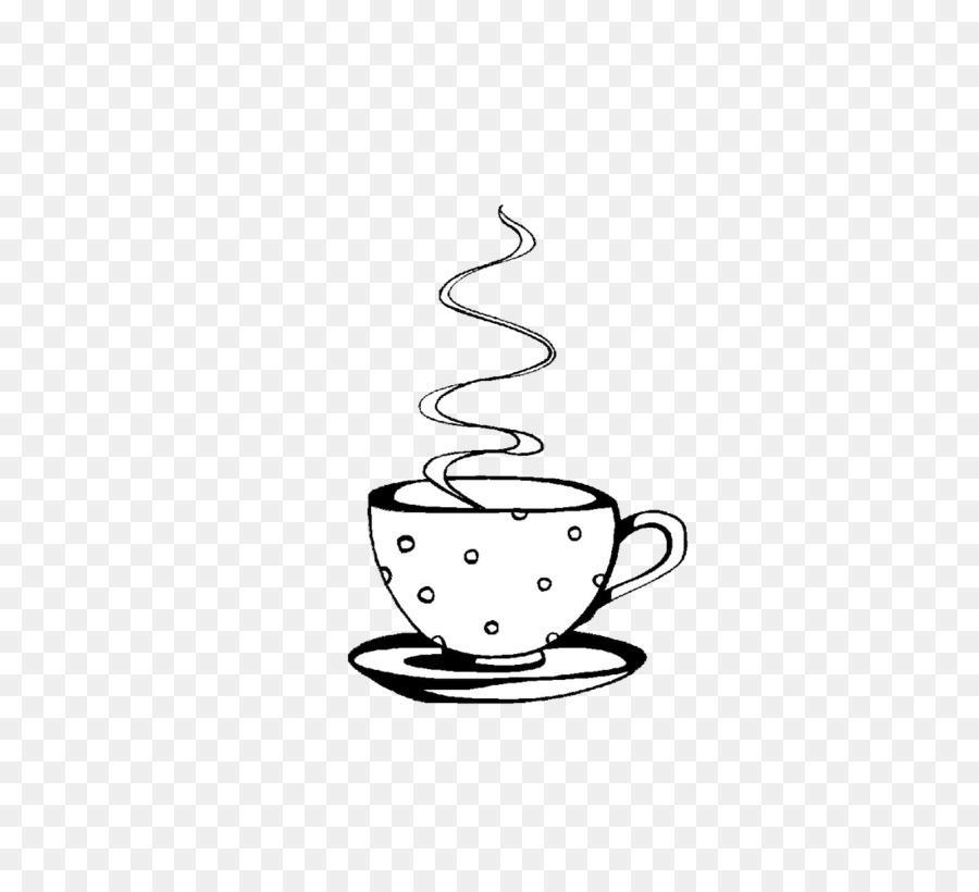 Coffee Teacup Kop Ausmalbild - Mug png download - 1100*1000 - Free ...