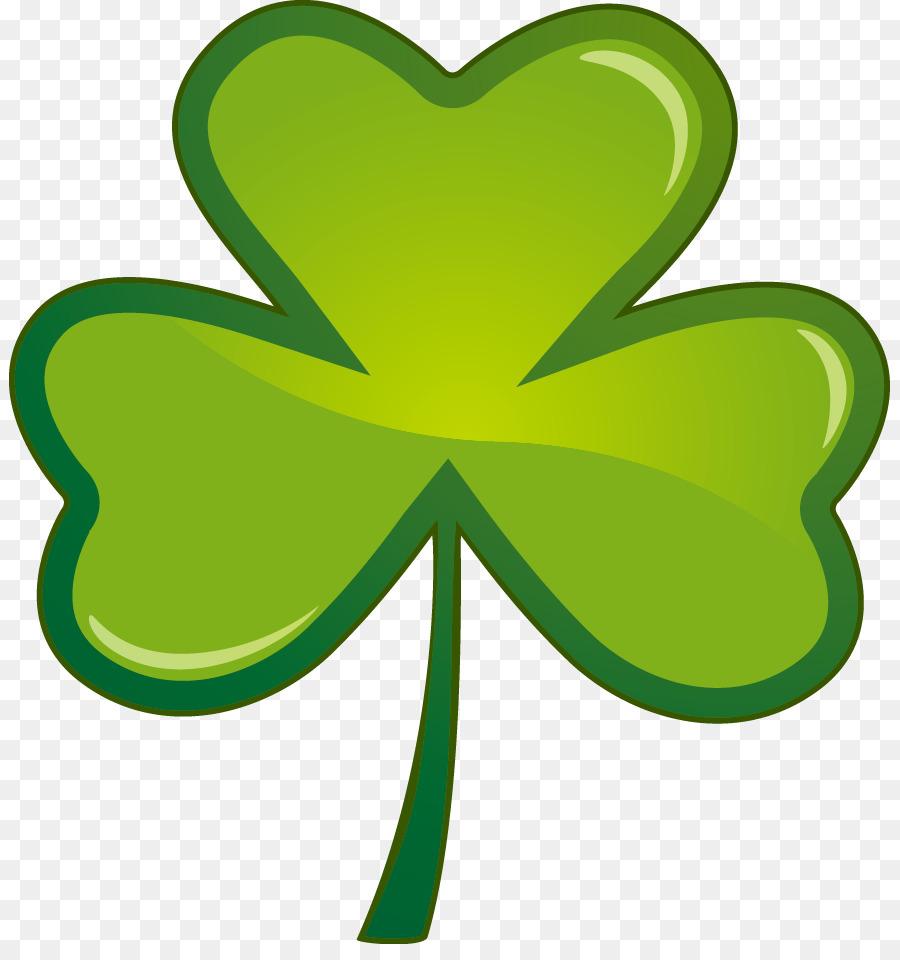 Irlanda el Día de San Patricio Shamrock Clip art - Trébol de la ...